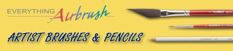 Artist Brushes & Pencils