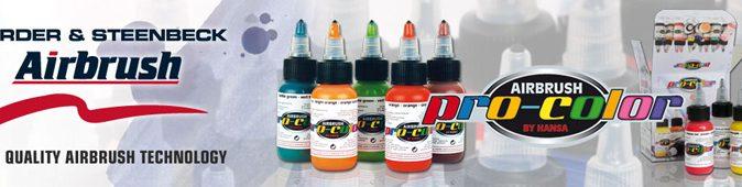 Airbrush Paint Kits - Pro Color