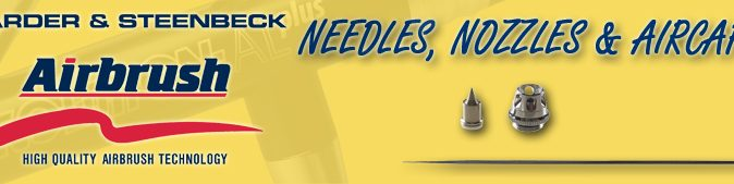 Harder & Steenbeck Needles, Nozzles and Air Caps