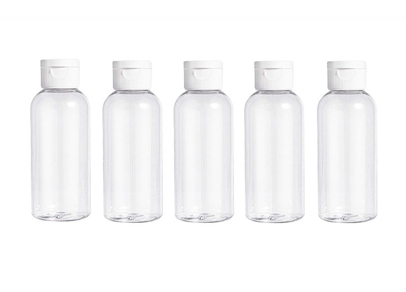 100ml Flip Cap Bottles Pack Of 5