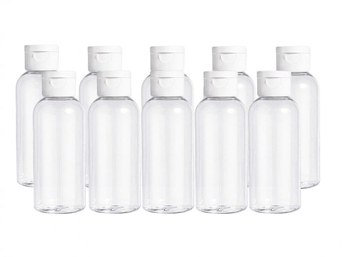 100ml Flip Cap Bottles Pack Of Ten