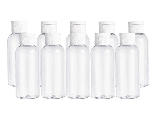 100ml Flip Cap Bottles Pack Of Ten