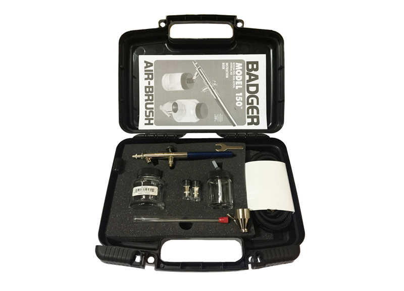 BADGER MODEL 200-5 BRAND NEW SINGLE ACTION SUCTION FEED AIRBRUSH KIT