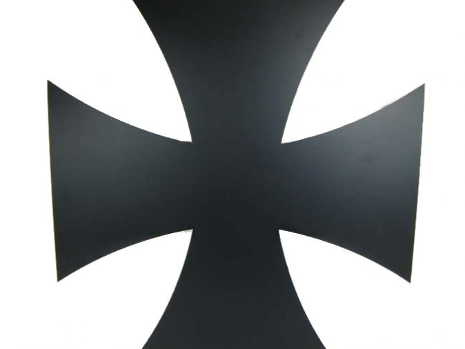Iron Cross - Matt Black