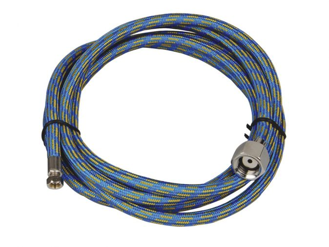 Highly Flexible 1.8 metre Rubber Braided Air Hose to suit Paasche Airbrushes-0