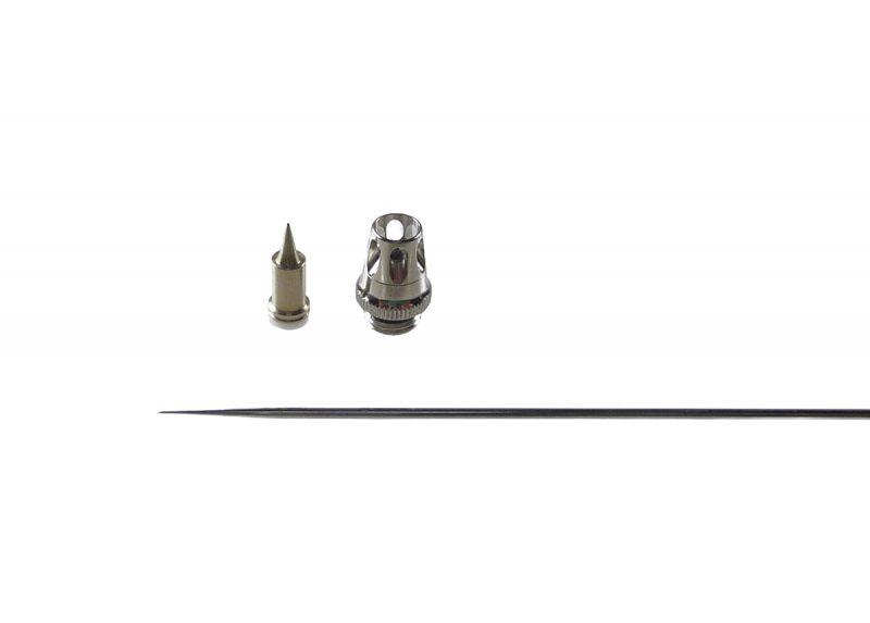 0.2mm Nozzle set for Evolution & Grafo Airbrush [V2.0]-0