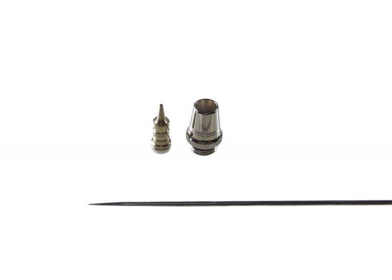 0.6mm Nozzle set for Evolution & Grafo Airbrush [V2.0]-0