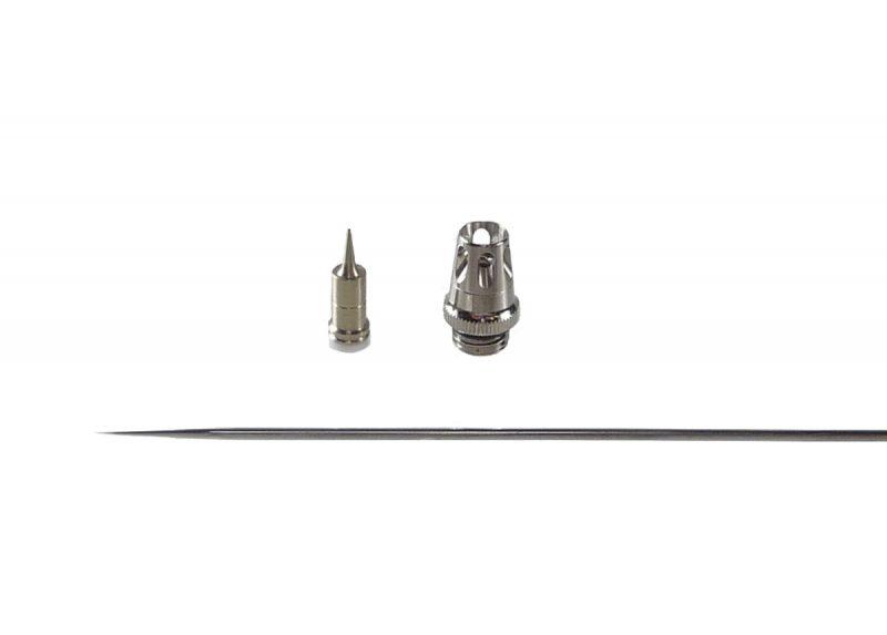 0.15mm Nozzle set for Evolution & Grafo Airbrush [V2.0]-0