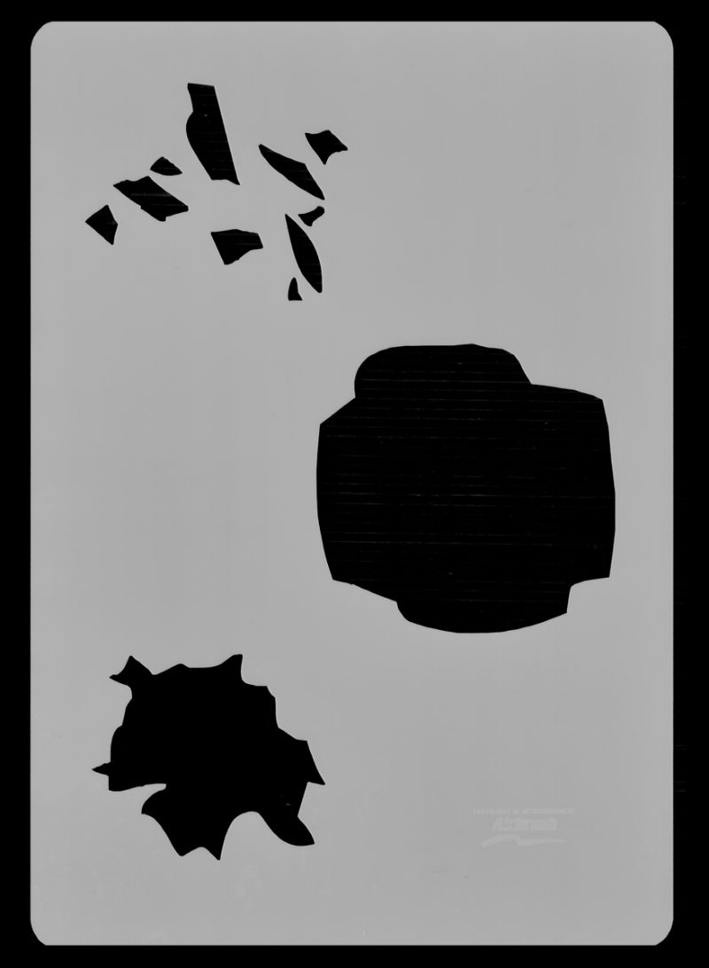 Broken Glass - Stencil