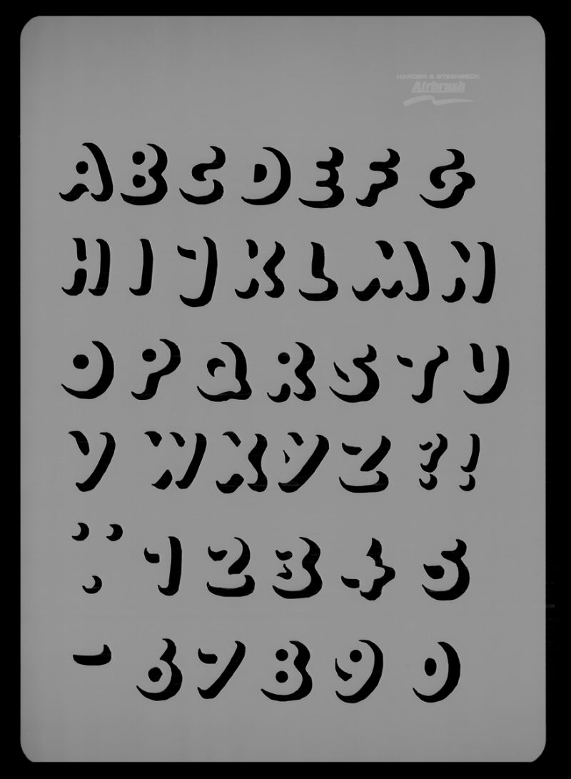Letters - Stencil
