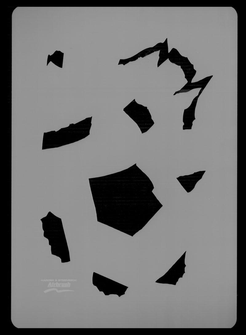 Steel Crack - Stencil