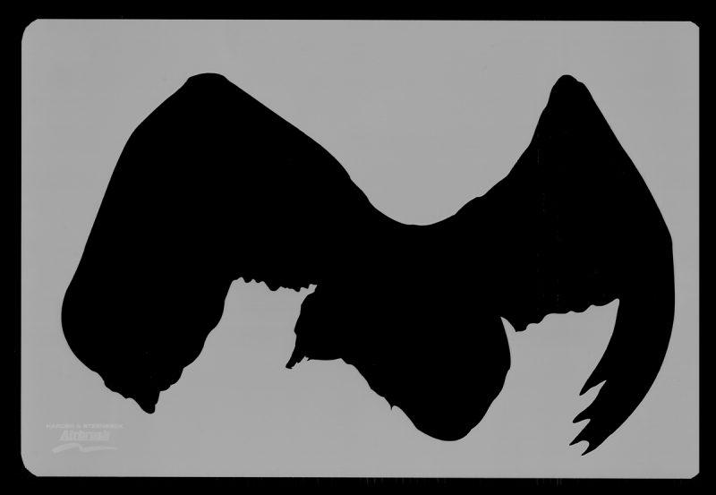Swan Wildlife Stencils