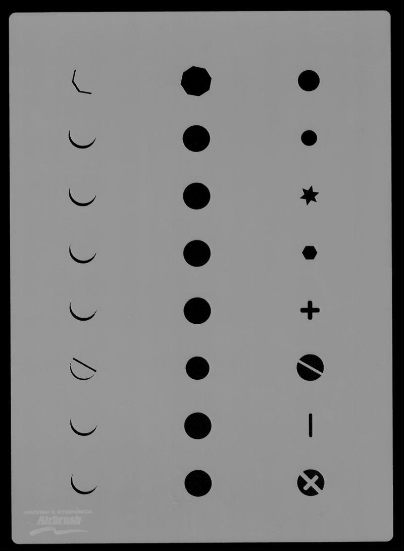 Screw Head Set - Stencil