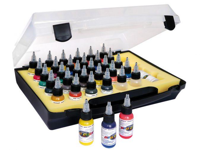 Pro-Color Kit in Plastic Carry Case - 28 1oz (32ml) Colours-0