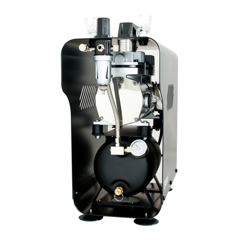 Sparmax TC-620X Professional Mini Twin Piston Airbrush Compressor (2.5 Litre Air Tank)-1576