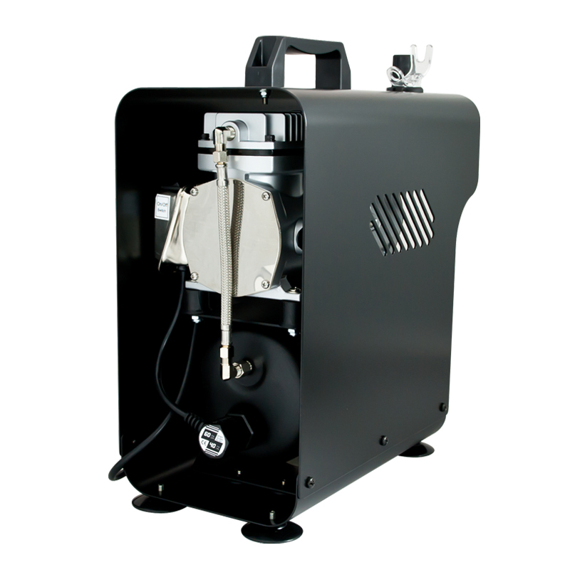 2.5 litre Sparmax TC-620X Professional Twin Piston Airbrush Compressor
