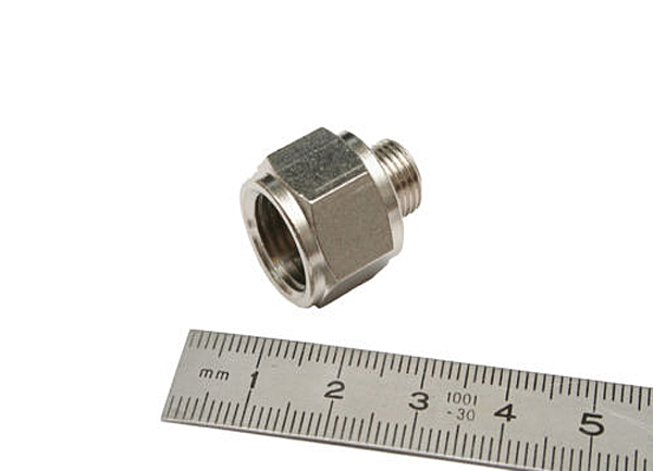 "1/4""BSP Female to 1/8""BSP Male Adaptor-0"