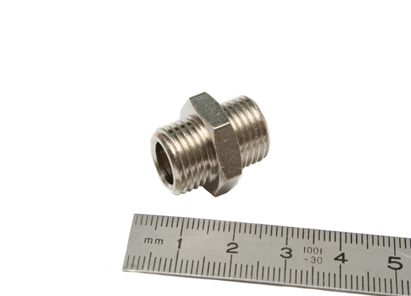 "1/4""BSP Male to 1/4""BSP Male Adaptor-0"