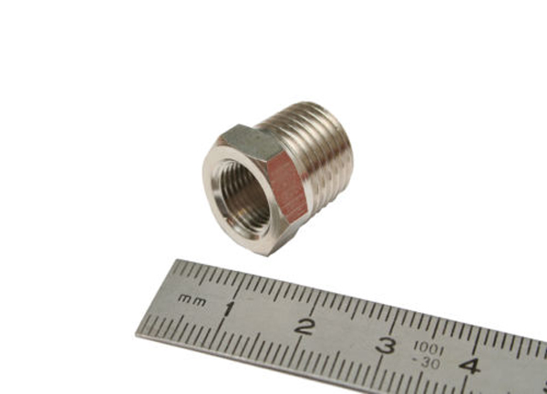 "1/4""BSP Male to 1/8""BSP Female Adaptor-0"