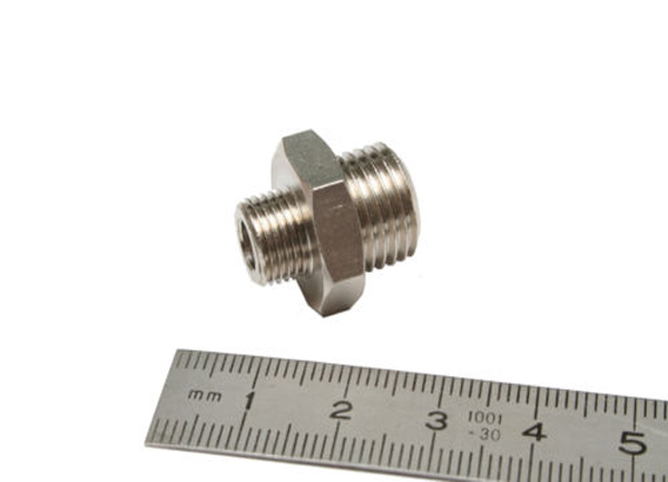 "1/4""BSP Male to 1/8""BSP Male Adaptor-0"