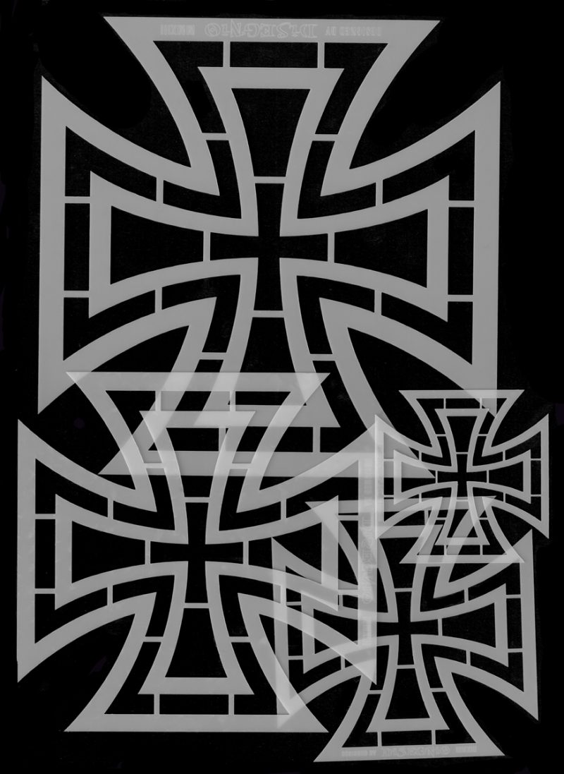 The Iron Cross - Set of Four Stencils