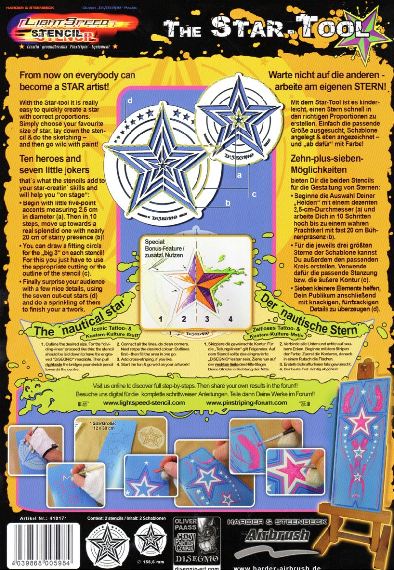 The Star Tool - Back Cover