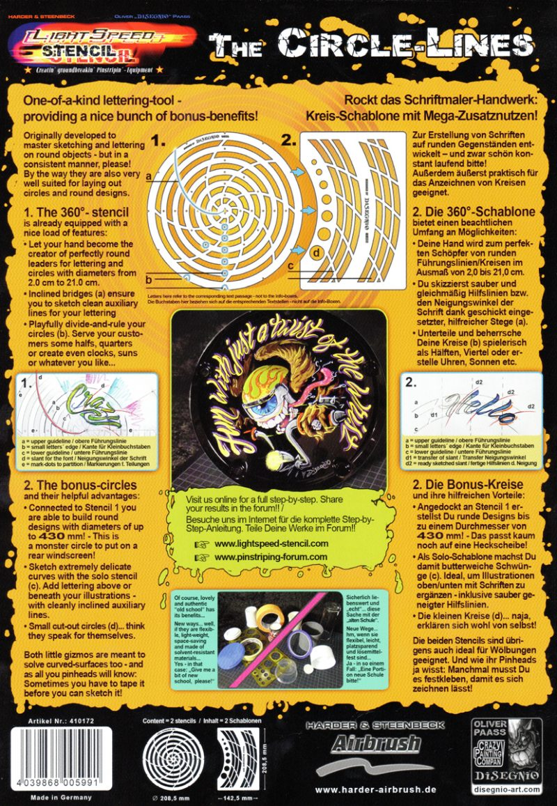 Circle Lines - Back Cover