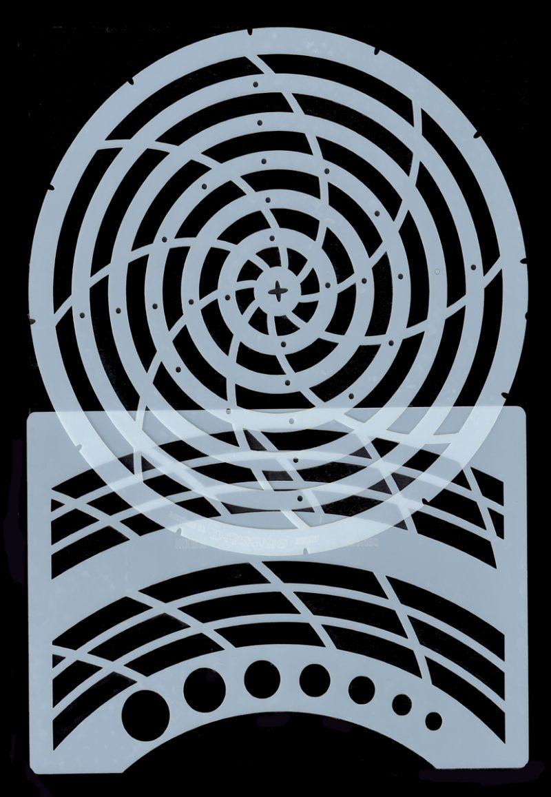 Circle Lines - Stencils
