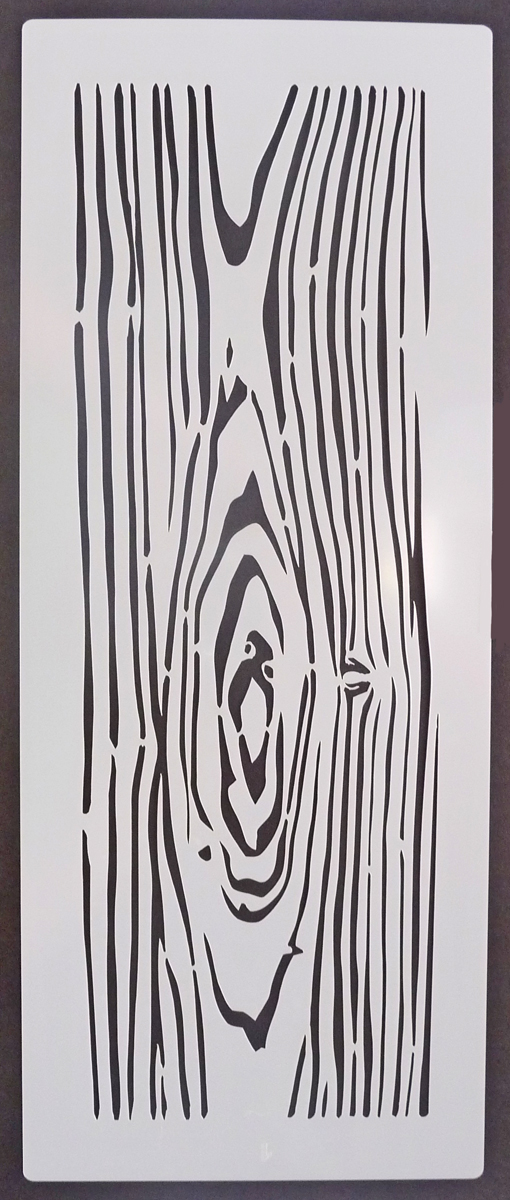 Wood Texture 1 Stencil