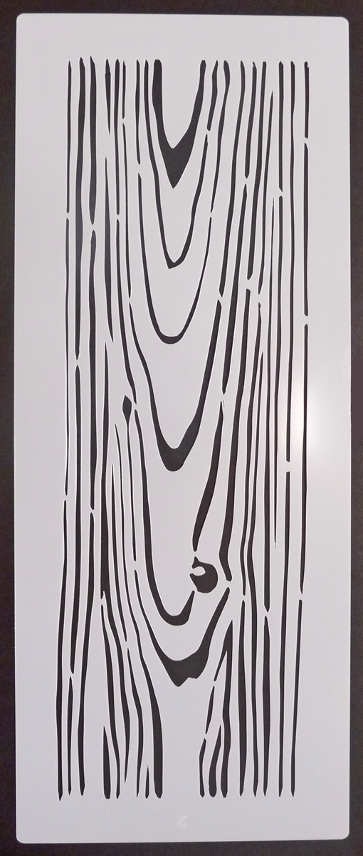 Wood Texture 2 Stencil