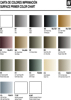 Vallejo Primer Color Chart
