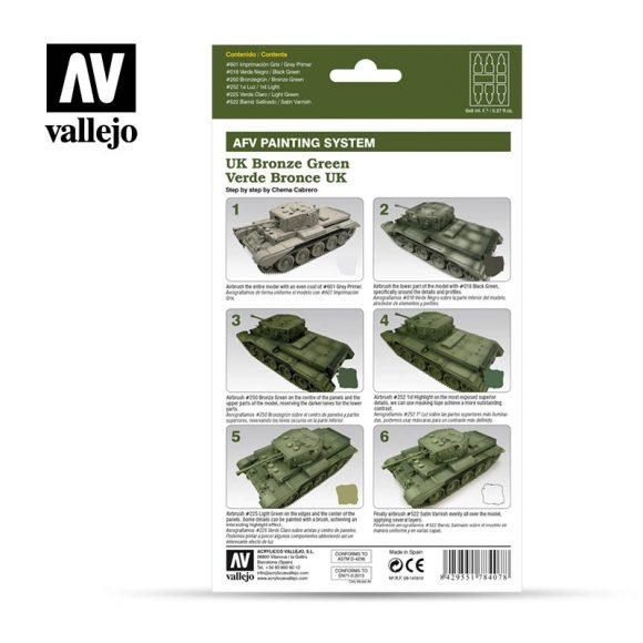 Vallejo AFV Armour Set - UK Bronze Green - 78407-5209