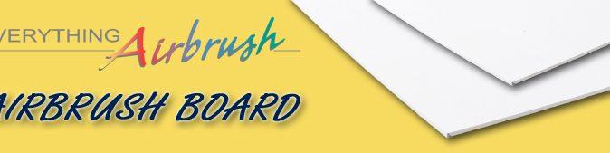 Airbrush Board