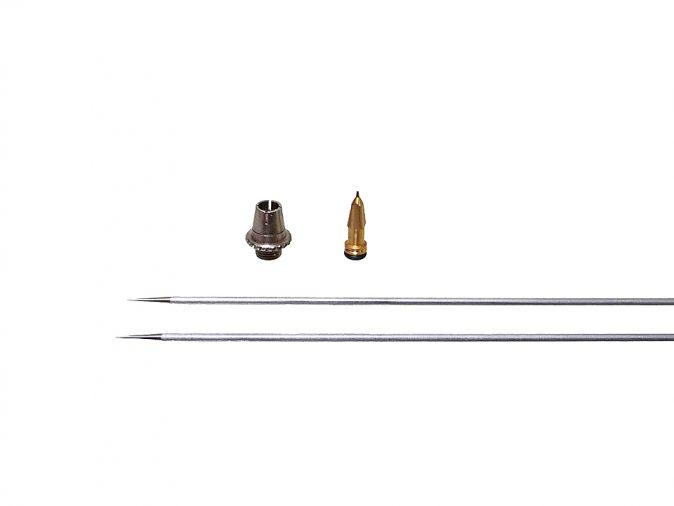Aerograph Fine Detail Needle, Nozzle and Air Cap