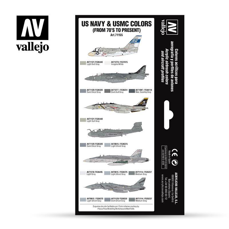 Vallejo 71.155 - Aircraft Colour Schemes