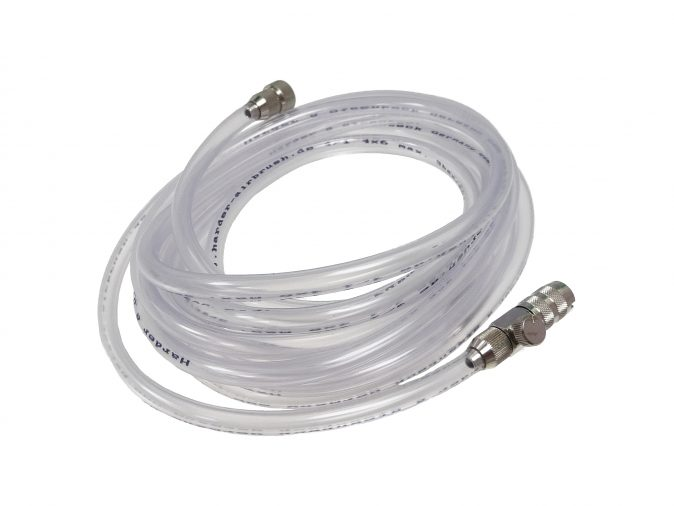 """Sparmax coiled air hose 1//8/""""-1//8/"""" for airbrush-compressor connection"""