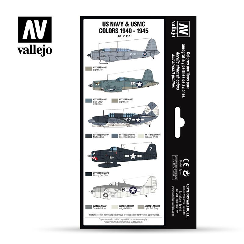 Vallejo 71.157 - Aircraft Colour Schemes