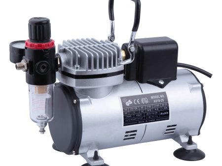 AB-AS18S Airbrush Compressor with Cooling Fan-0