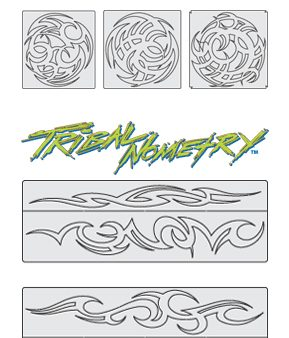 Artool Stencil - Steve Vandemon's Tribal Master Stencil Set-0