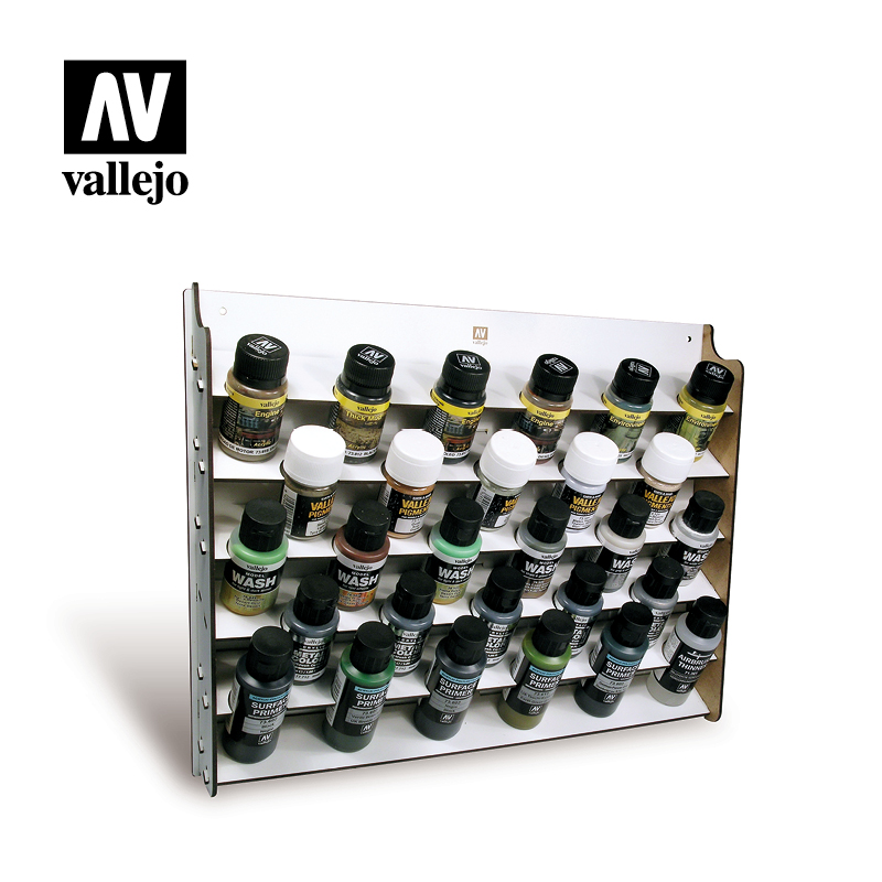 Wall Mounted Paint Display 35/60ml (Paints Excluded)