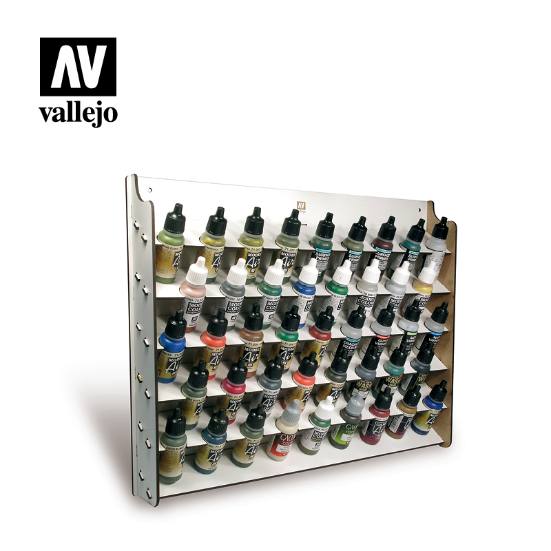 Vallejo Paint Stand - Wall Mounted Paint Display (17ml) - 26010-5075