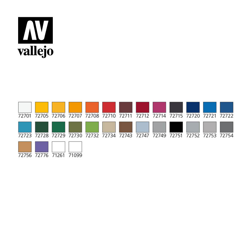 Vallejo Game Air Basic Colors & Ultra Airbrush Set in Carry Case - 72871-4947