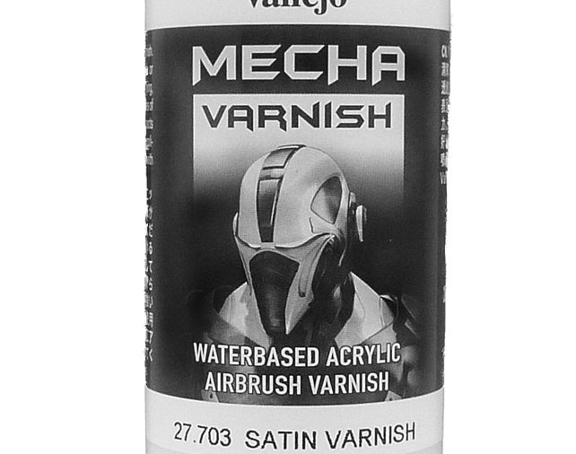 Vallejo Mecha Satin Varnish (200ml) - 27703-0