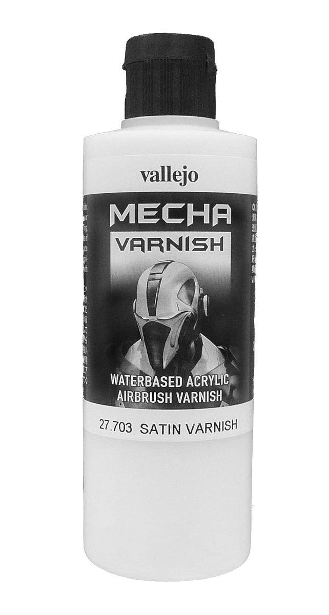 Vallejo Mecha Satin Varnish (200ml) - 27703-0