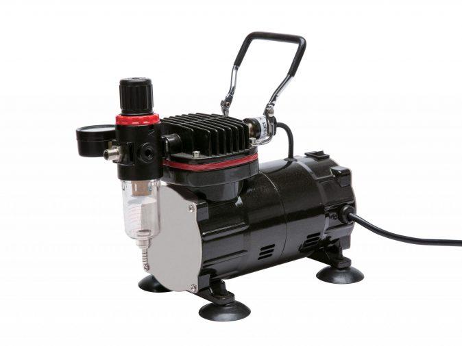 Royal Max TC-802 - Mini Piston Type Compressor for Airbrushing-0