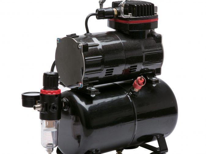 Royal Max TC-80T - Single Piston Compressor with 3 Litre Air Receiver-0