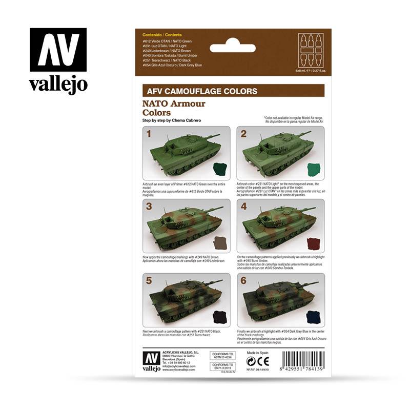 AFV NATO Armour Colors - Back