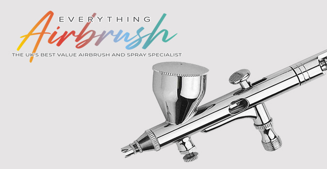 Finespray Gravity Feed Airbrushes