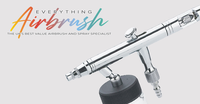 Finespray Suction Feed Airbrushes