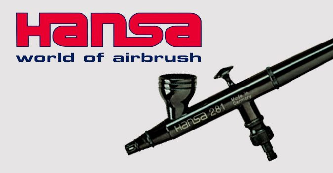 Hansa Airbrushes